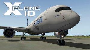 XPLANE 10: Airbus A350 XWB - X-Plane - La Fundación