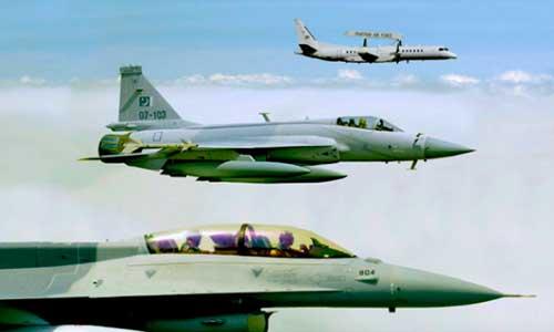Fuerzas A2A paquistaníes, incluido su AWACS
